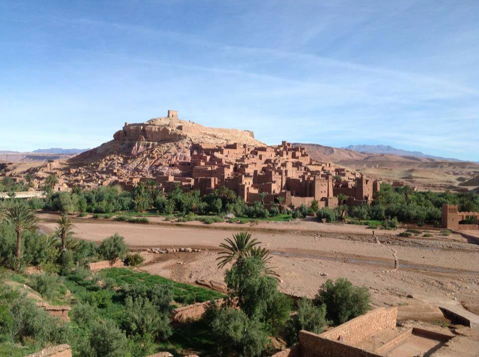 Ancient ruins in southern Morocco.