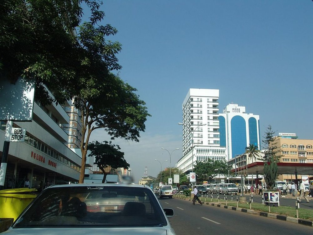Kampala, Uganda Credit: User: (WT-shared) Tending at wts wikivoyage,  KampalaRd Uganda house Kampala ,  CC BY-SA 3.0