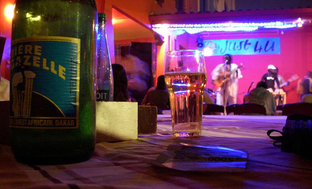 Downtown nightlife in Dakar. Credit:  Erica Kowal ,  Dakar-Just4U ,  CC BY-SA 2.0