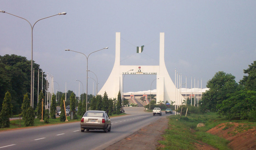 City Gate, Abuja, Nigeria Credit:  Wikimedia Commons