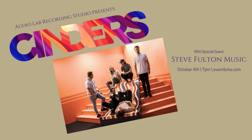 Cinders live at Audio Lab / October 4th — Audio Lab