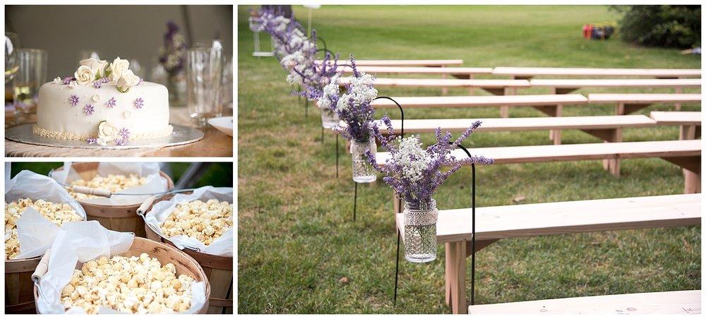 Detail Shots of DIY Wedding Benches | Bethany and Jono's Intimate DIY Wedding | Colorado Springs Wedding Photographer | Farm Wedding Photographer | Apollo Fields Wedding Photojournalism