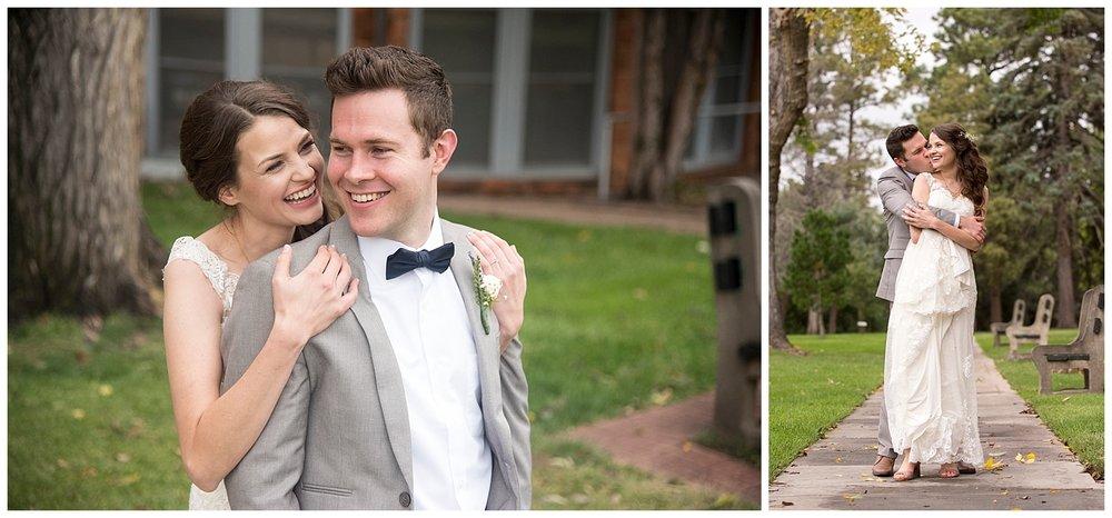 Gorgeous Bride and Groom | Bethany and Jono's Intimate DIY Wedding | Colorado Springs Wedding Photographer | Farm Wedding Photographer | Apollo Fields Wedding Photojournalism