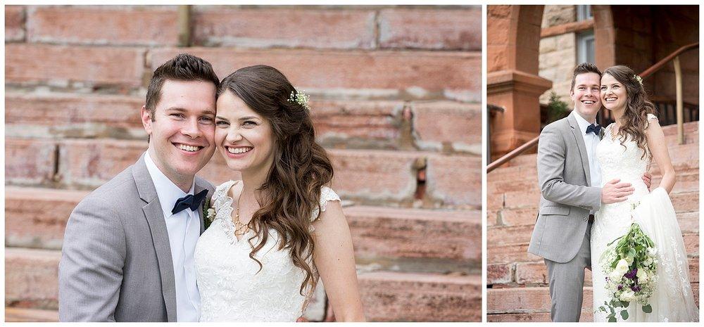 Cute Young Bride & Groom | Bethany and Jono's Intimate DIY Wedding | Colorado Springs Wedding Photographer | Farm Wedding Photographer | Apollo Fields Wedding Photojournalism