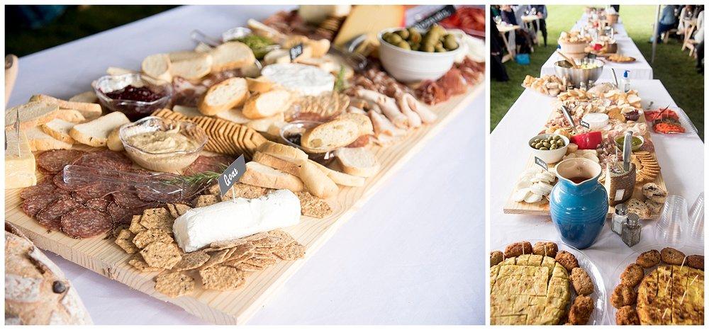 DIY Wedding Food | Bethany and Jono's Intimate DIY Wedding | Colorado Springs Wedding Photographer | Farm Wedding Photographer | Apollo Fields Wedding Photojournalism