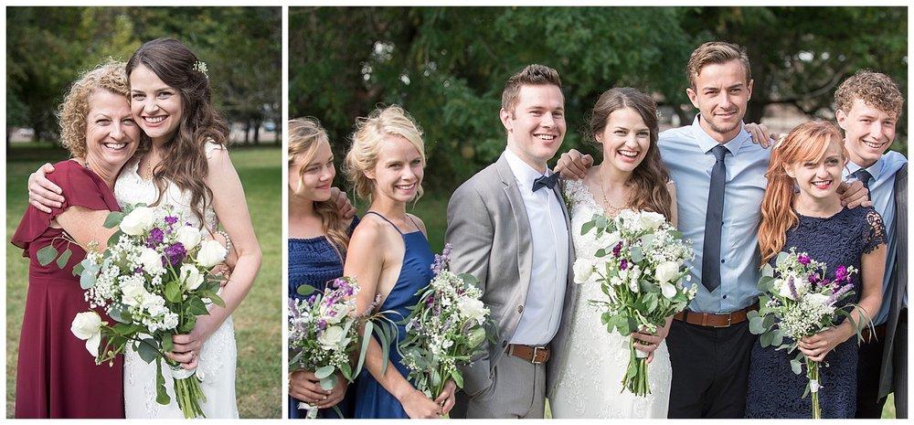 Intimate Family Wedding Photography | Bethany and Jono's Intimate DIY Wedding | Colorado Springs Wedding Photographer | Farm Wedding Photographer | Apollo Fields Wedding Photojournalism
