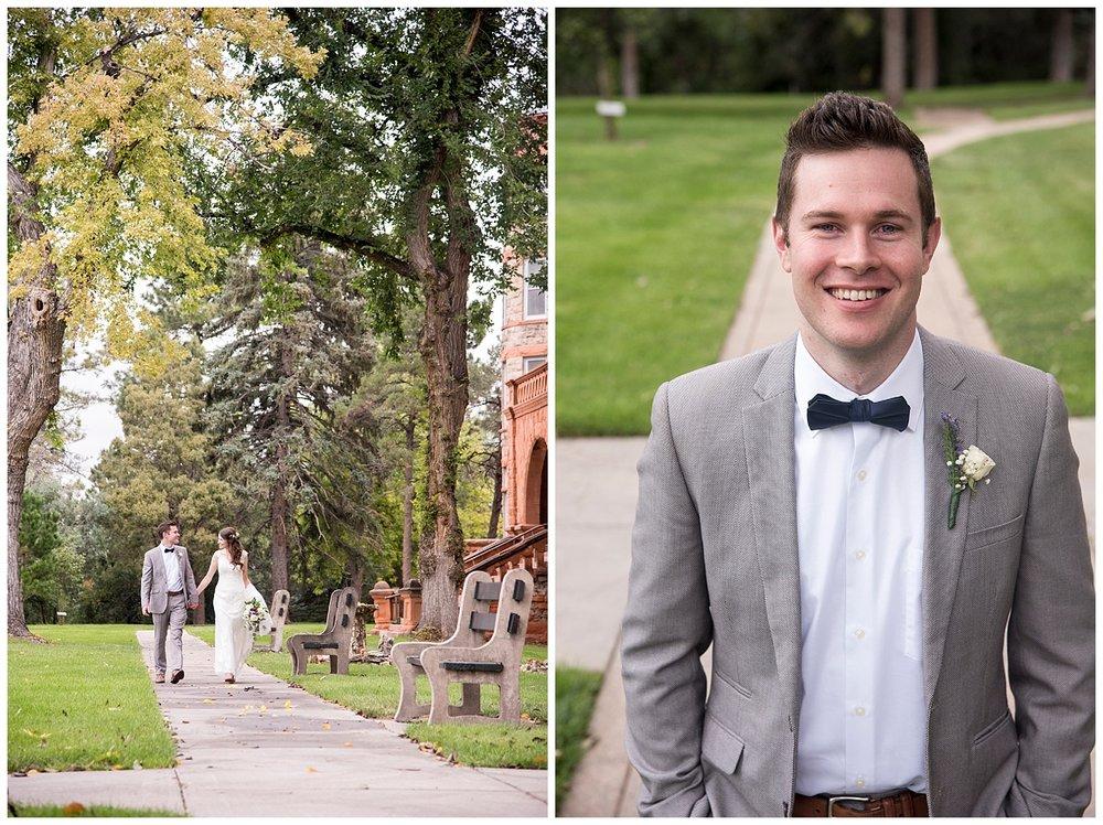 Happy Bride and Groom | Bethany and Jono's Intimate DIY Wedding | Colorado Springs Wedding Photographer | Farm Wedding Photographer | Apollo Fields Wedding Photojournalism
