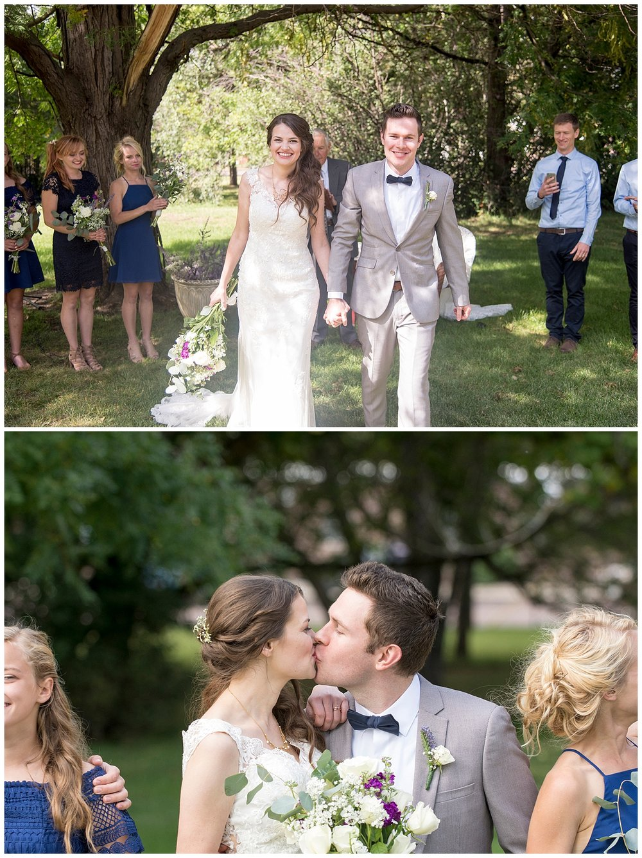 Bride and Groom in Love | Bethany and Jono's Intimate DIY Wedding | Colorado Springs Wedding Photographer | Farm Wedding Photographer | Apollo Fields Wedding Photojournalism