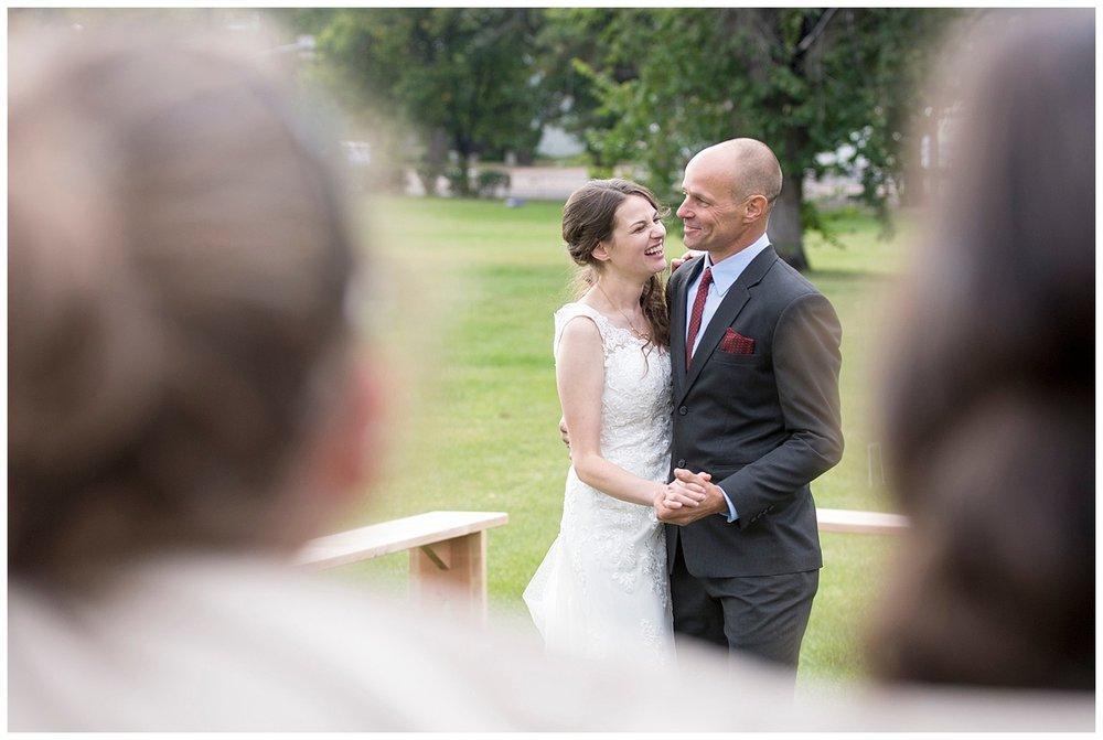 Daddy Daughter Dance | Bethany and Jono's Intimate DIY Wedding | Colorado Springs Wedding Photographer | Farm Wedding Photographer | Apollo Fields Wedding Photojournalism