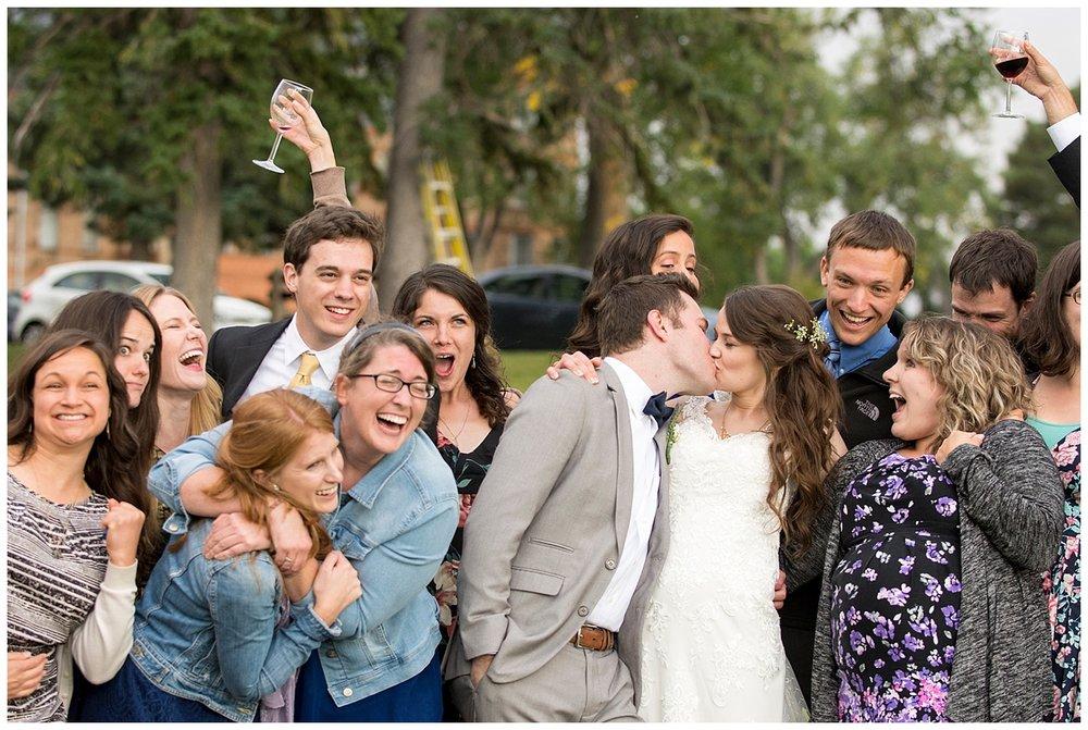 Candid Wedding Photographer | Bethany and Jono's Intimate DIY Wedding | Colorado Springs Wedding Photographer | Farm Wedding Photographer | Apollo Fields Wedding Photojournalism