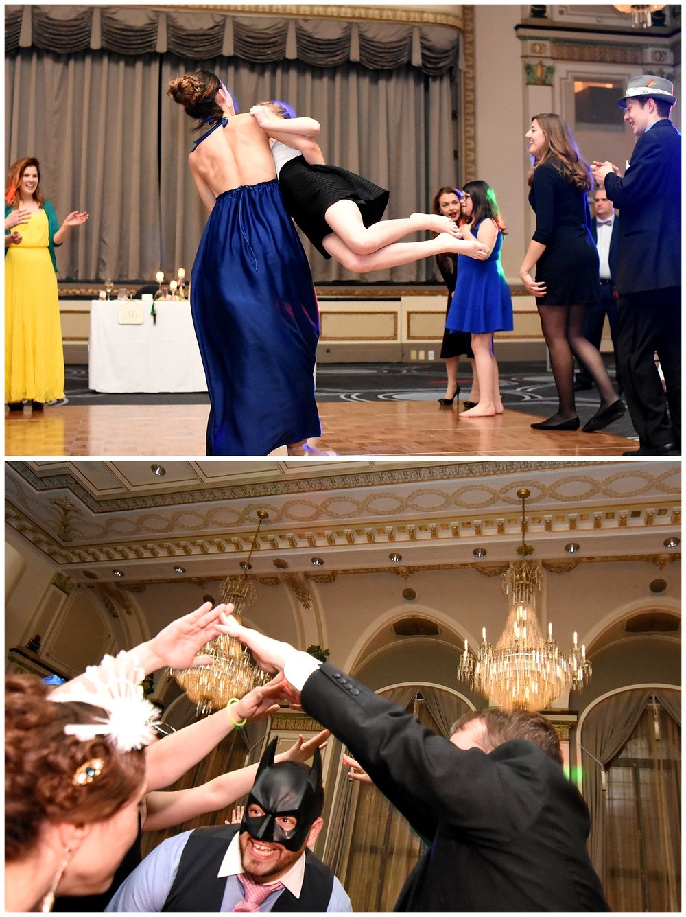 Wedding Guests Dancing | Intimate Wedding Photographer | Chateau de Frontenac | Quebec City Wedding Photographer | Farm Wedding Photographer | Apollo Fields Wedding Photojournalism
