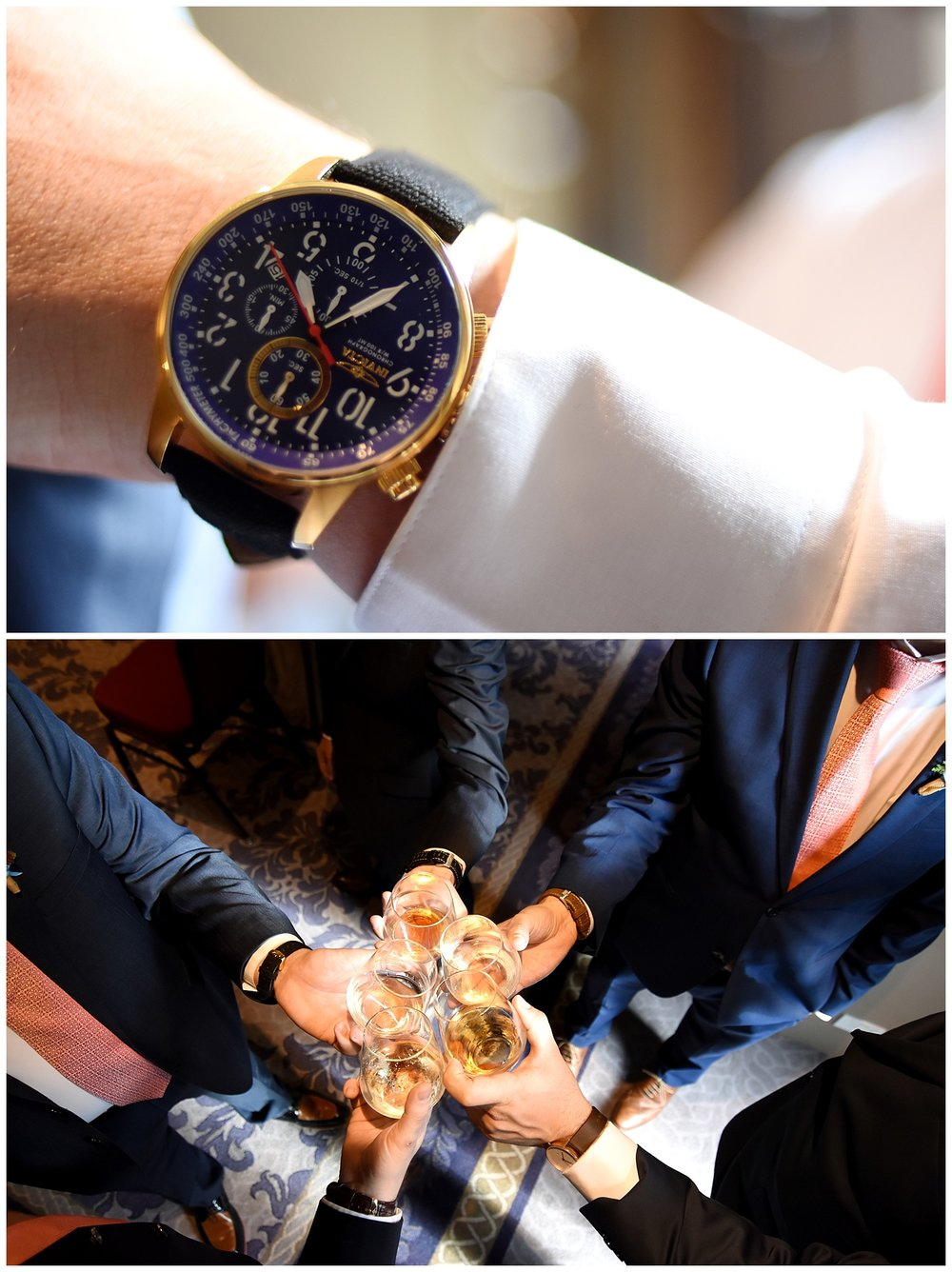 Detail Shots of Watches | Intimate Wedding Photographer | Chateau de Frontenac | Quebec City Wedding Photographer | Farm Wedding Photographer | Apollo Fields Wedding Photojournalism