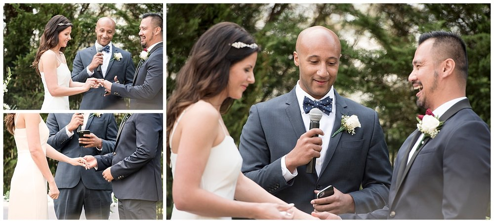 Bride & Groom Getting Married   Intimate Wedding Photographer   New York State Wedding Photographer   Farm Wedding Photographer   Apollo Fields Wedding Photojournalism