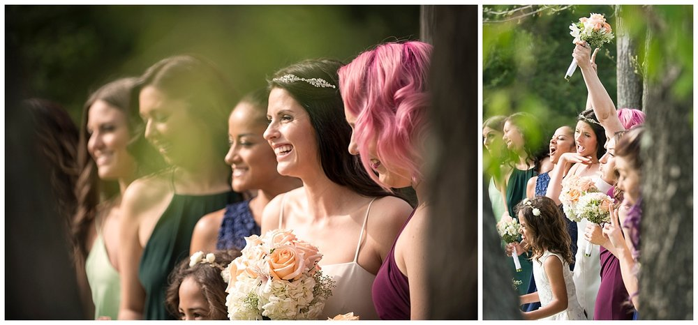 Bridesmaids Photograph   Intimate Wedding Photographer   New York State Wedding Photographer   Farm Wedding Photographer   Apollo Fields Wedding Photojournalism