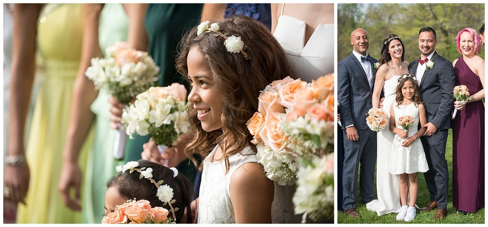 Flower Girl Photograph | Intimate Wedding Photographer | New York State Wedding Photographer | Farm Wedding Photographer | Apollo Fields Wedding Photojournalism