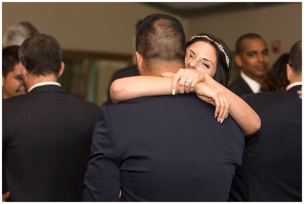 Bride & Groom Embracing   Intimate Wedding Photographer   New York State Wedding Photographer   Farm Wedding Photographer   Apollo Fields Wedding Photojournalism