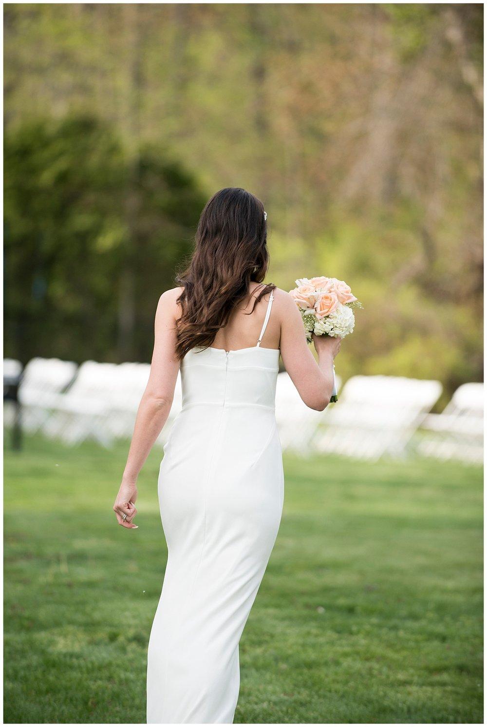 Bride Walking   Intimate Wedding Photographer   New York State Wedding Photographer   Farm Wedding Photographer   Apollo Fields Wedding Photojournalism