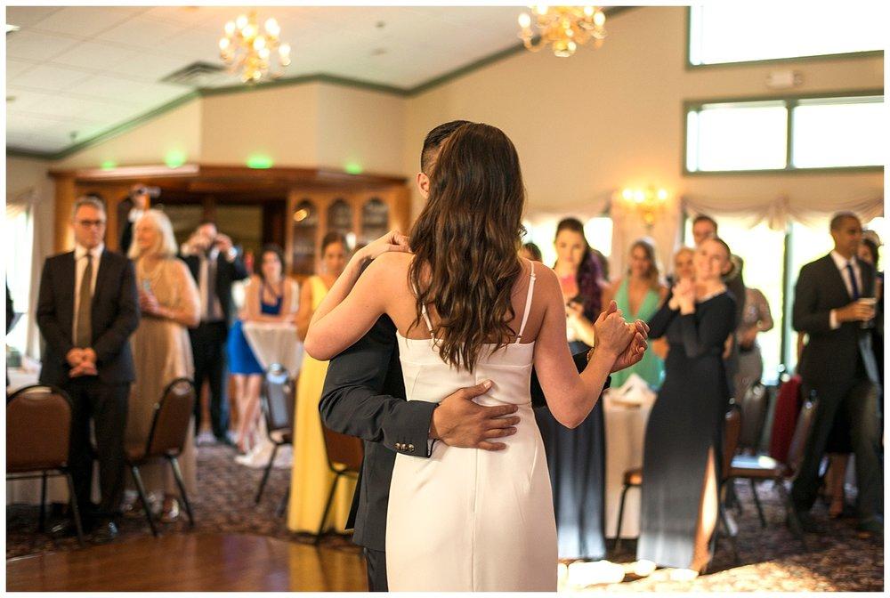 Bride & Groom Dancing   Intimate Wedding Photographer   New York State Wedding Photographer   Farm Wedding Photographer   Apollo Fields Wedding Photojournalism