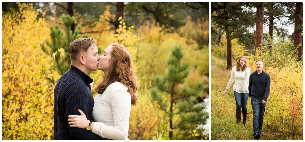 Kissing in their Mountain Engagement | Don & Aliyah's Mountain Engagement Photography | Farm Wedding Photographer | Apollo Fields Wedding Wedding Photojournalism