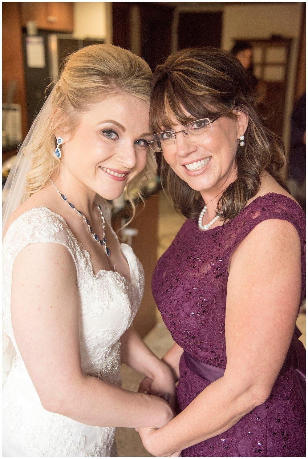 Bride & Mom | Chris & Destiny's Destination Wedding | Breckenridge Wedding Photographer | Colorado Farm Wedding Photographer | Apollo Fields Wedding Photojournalism