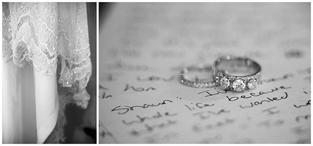 Close up of Gown and Ring | Carolyn and Shawn's Wild Horse Inn Wedding at Devil's Thumb Ranch | Fraser Colorado Photography | Farm Wedding Photographer | Apollo Fields Wedding Photojournalism