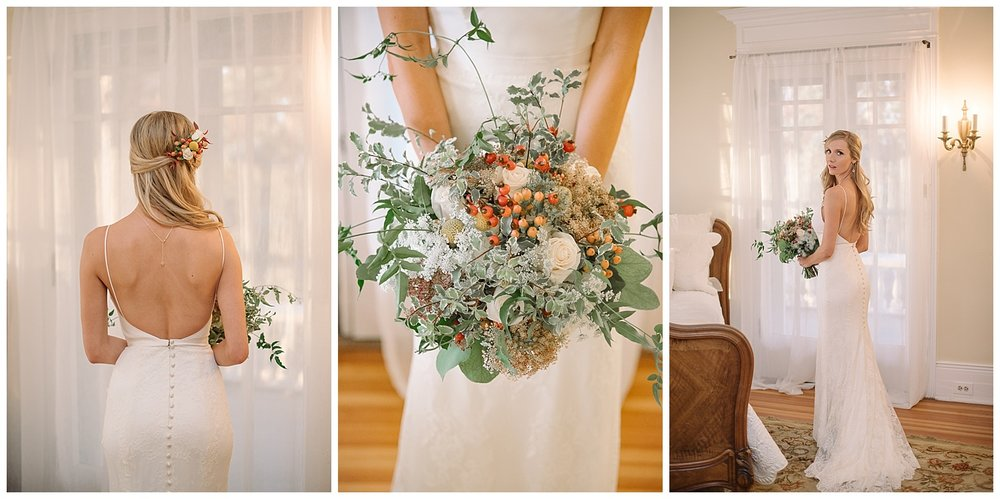 Bride Collage with Bouquet | Lindsey and Jeff's Intimate Wedding at Grant Humphrey's Mansion | Denver Colorado Photographer | Farm Wedding Photographer | Apollo Fields Photojournalism