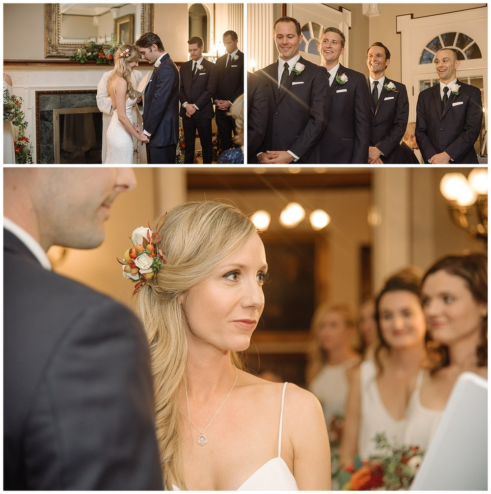 Intimate Collage of Bride & Guests | Lindsey and Jeff's Intimate Wedding at Grant Humphrey's Mansion | Denver Colorado Photographer | Farm Wedding Photographer | Apollo Fields Wedding Photojournalism