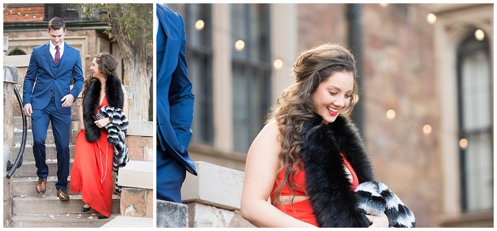 Woman smiling | Nicholas and Eden's Surprise Proposal at Glen Eyrie Castle | Colorado Springs Photographer | Farm Wedding Photographer | Apollo Fields Wedding Photojournalism