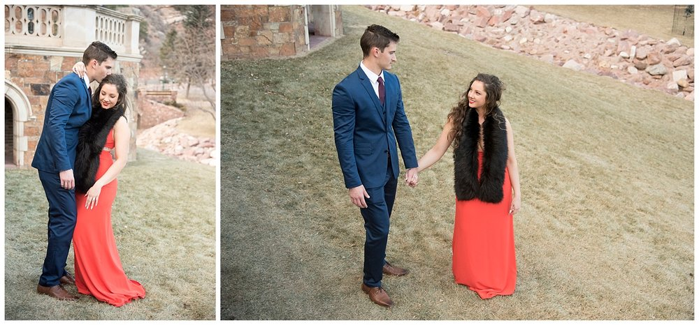 Man and Woman in Love| Nicholas and Eden's Surprise Proposal at Glen Eyrie Castle | Colorado Springs Photographer | Farm Wedding Photographer | Apollo Fields Wedding Photojournalism