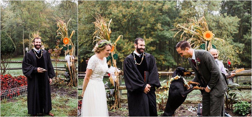 DIY Backyard Wedding NJ