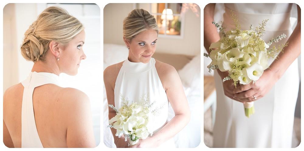 Bridal Portraits Upstate New York Farm Wedding