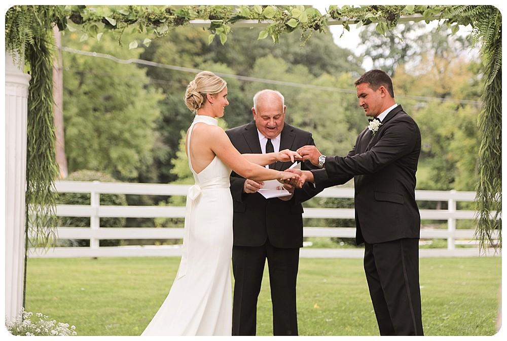 Classic Wedding Ceremony Ideas Upstate New York Farm Wedding
