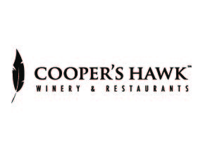 Cooper's Hawk Winery & Restaurants   Handcrafted wine. Modern casual dining.  Cooper's Hawk Winery & Restaurants passionately believe that food and wine hold the power to forge lasting connections, setting the table for a life well lived. They invite you to join them for an experience filled with memorable moments built upon food, wine, and friendship.Cheers!