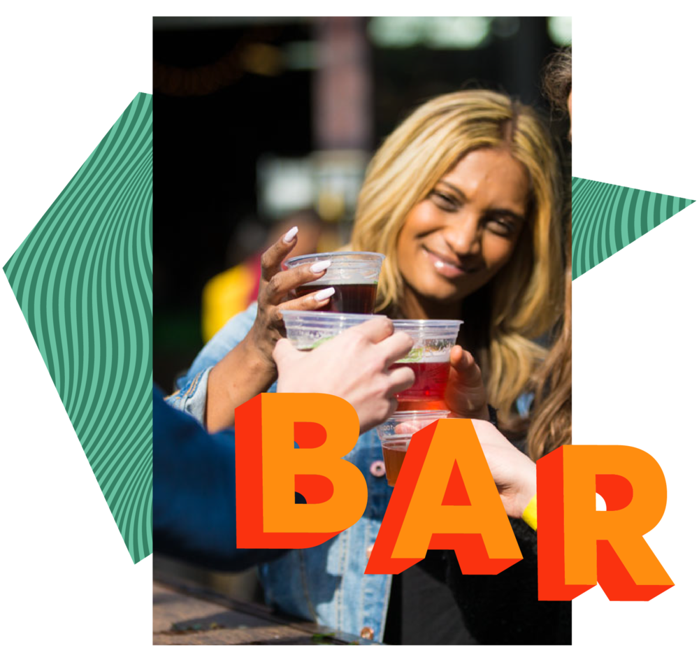 TASTEMAKER BAR - Brand new for 2019. All the ingenuity of the Kitchen, but you can drink the delicious. Your city's mixologists putting local twists on all your favourite libations. All your drinks, all included in your ticket, all session long.