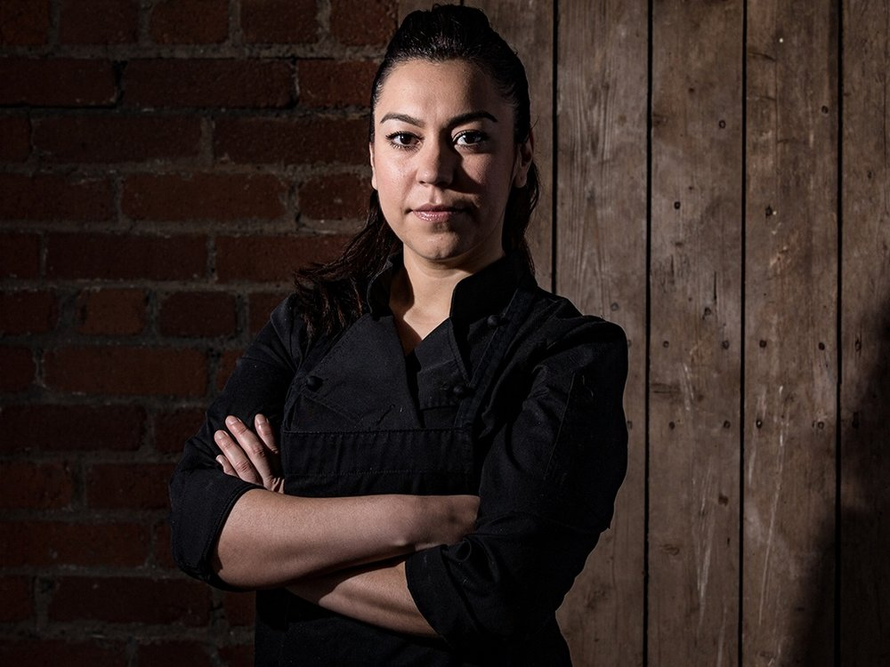 Chef Elia Herrera, born in Cordoba, Veracruz-Mexico, was exposed to the fascinating world of cookery from a very young age due to her mother and grandmother's influence Elia has followed her roots and has brought the tradition of authentic Mexican cuisine to Canada when she moved here in 2003. Taking bits and pieces from her training abroad, having perfected her craft in countries like Spain, France, Belgium, Italy and Canada, Elia puts a little bit of herself in every dish she creates. She puts her passion and dedication into every dish she makes, and you'll be sure to taste it!