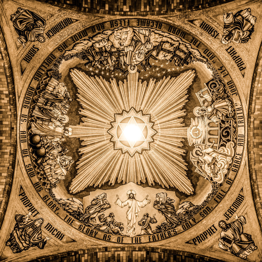 Basilica of the Natioinal Shrine of the Imaculate Conception-The Incarnation Dome.jpg