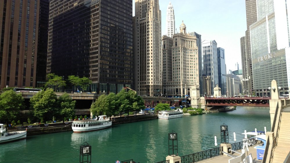 The Chicago River. Photo by Todd Lapin, Director of Strategic Accounts
