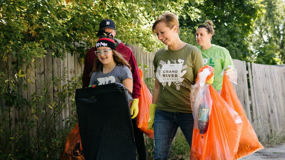 MAYORS' GRAND RIVER CLEANUP -