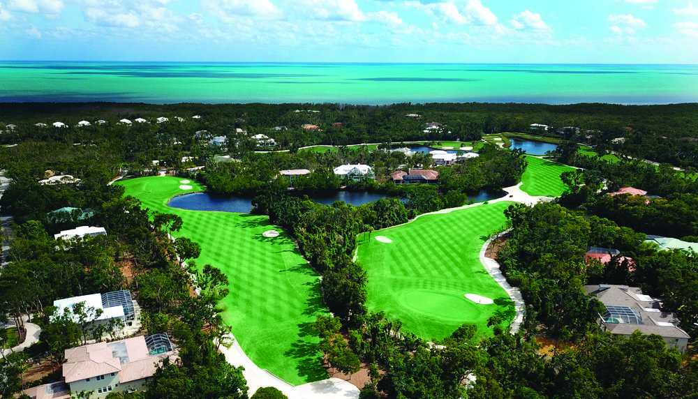 Key Largo's picturesque Ocean Reef Golf Course and Club.