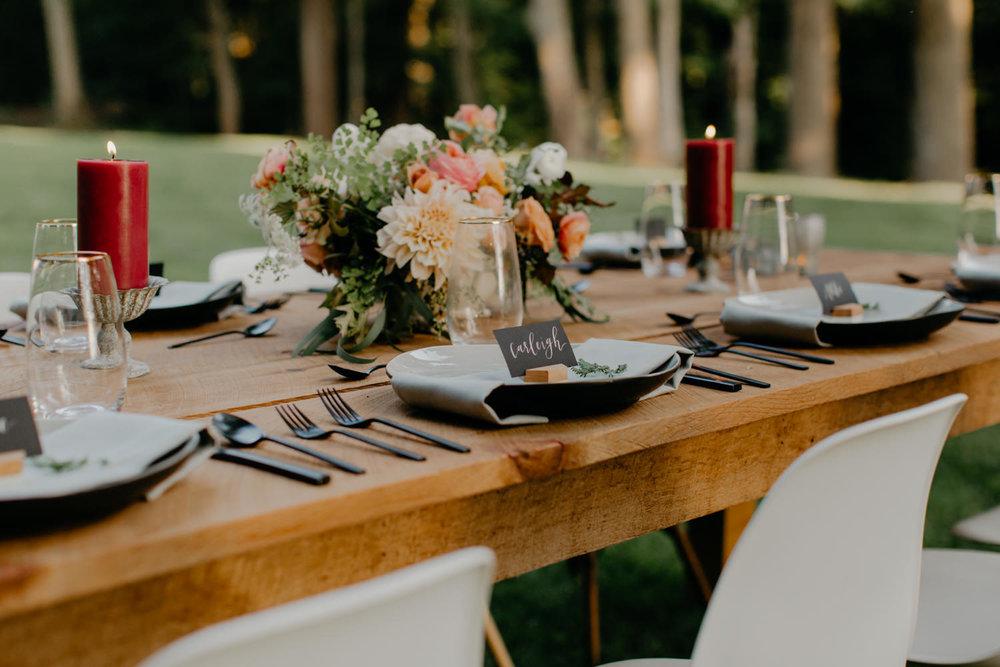 Lockwood Tables Photographer: Jillian Bowes