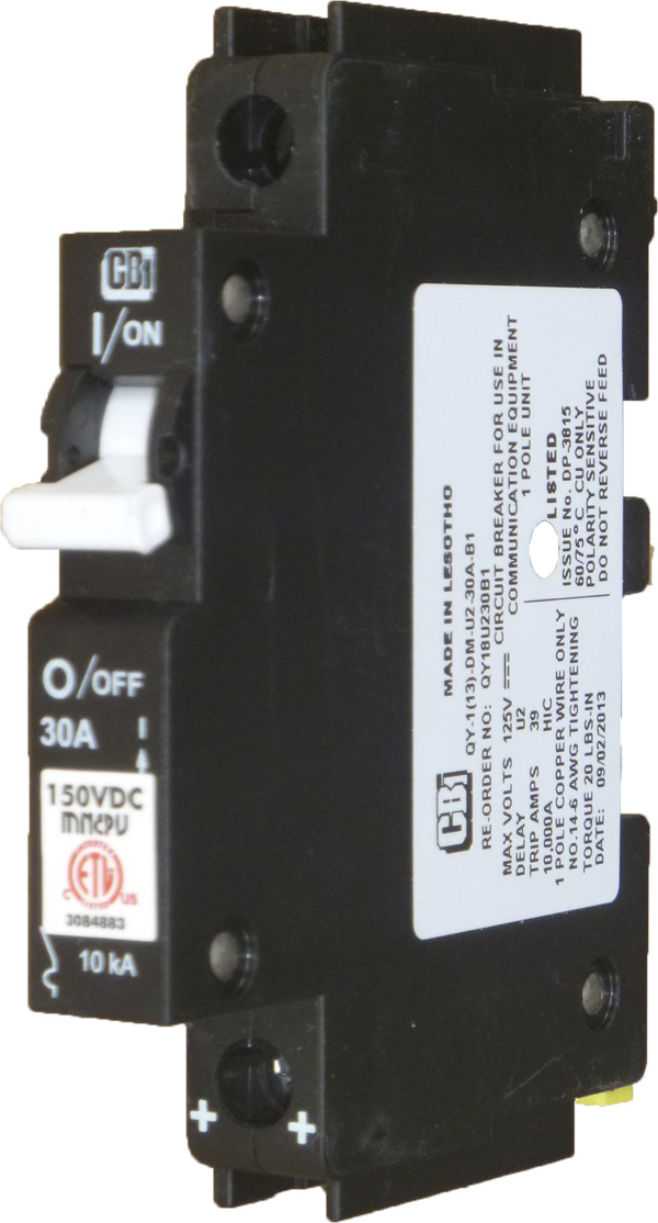 10A to 250A DC Breakers