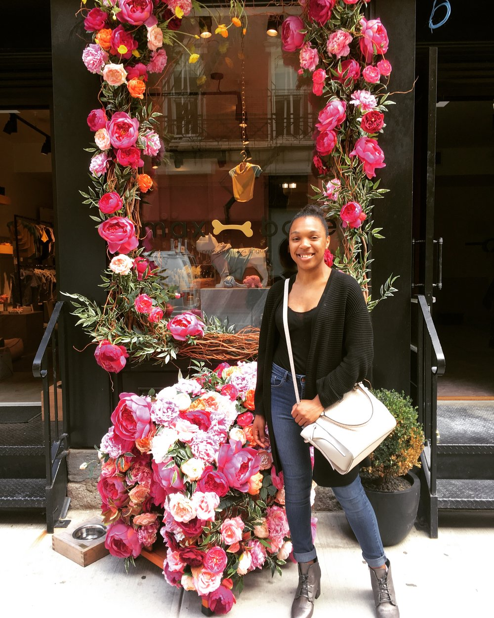 I am in love with floral store fronts.
