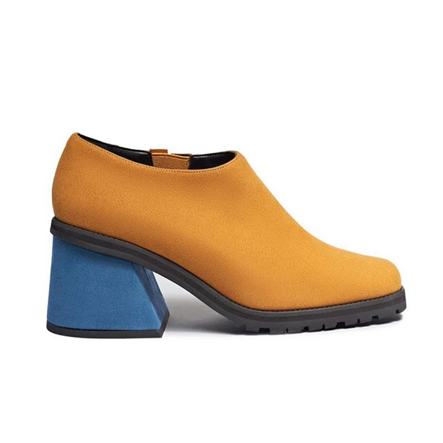 Wear Mustard  #trend #fashion #shoes #monday #crueltyfree #heels #vegan  #zapatos #moda #vegana
