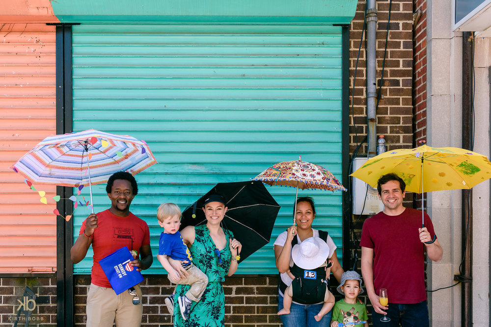 Earth Day Umbrella Stroll - A celebration of all things spring!