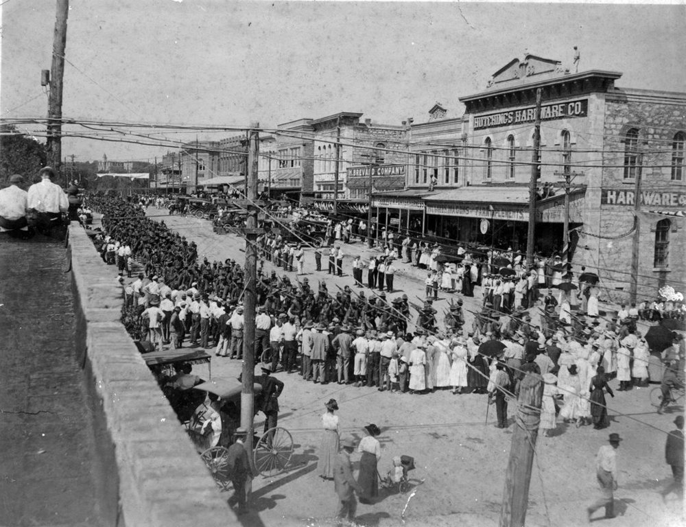 Downtown San Marcos - Hopkins Street