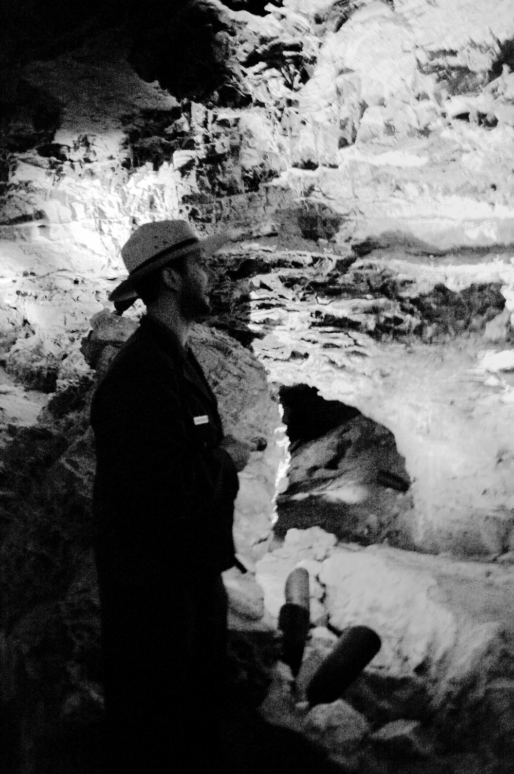 Tour Guide in Wind Cave
