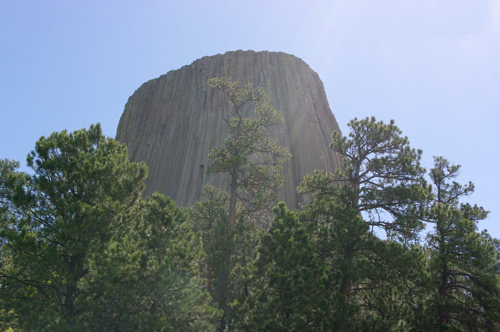 Walking around Devil's Tower