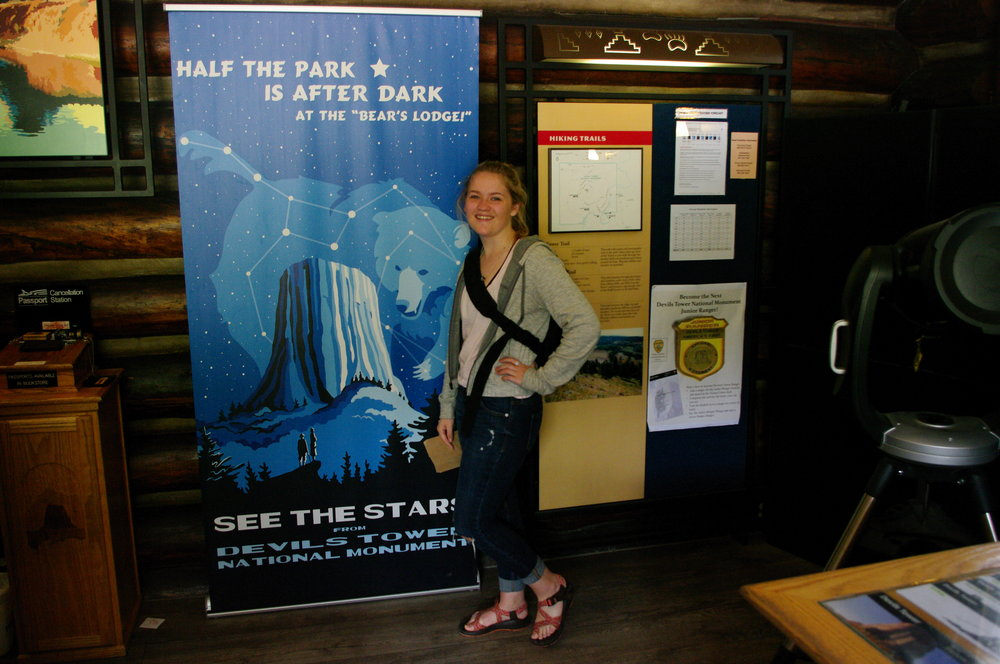 I was super excited about the star gazing programs they have at the park!
