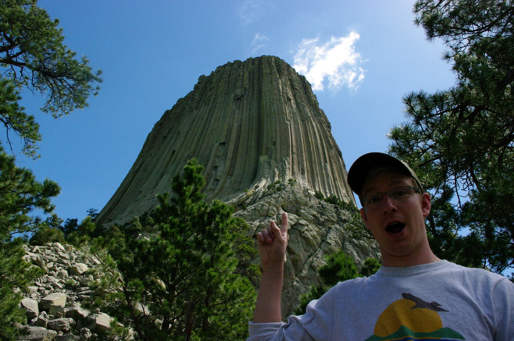 Haha, I touched the butte