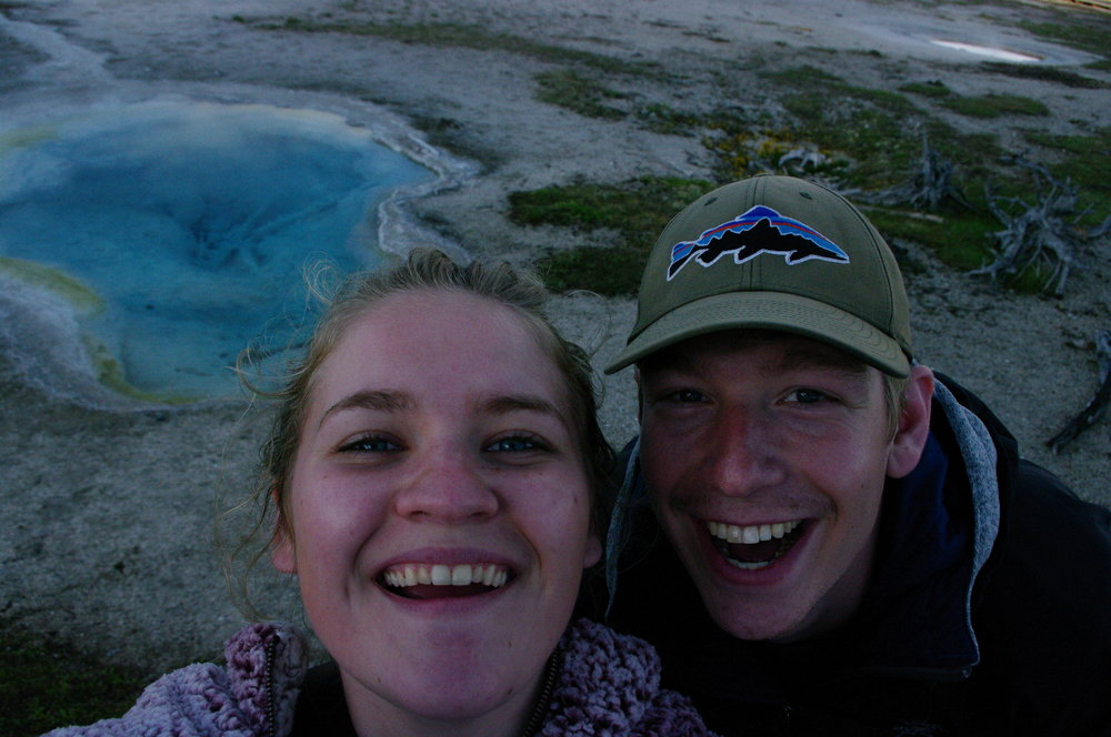 Us at West Geyser